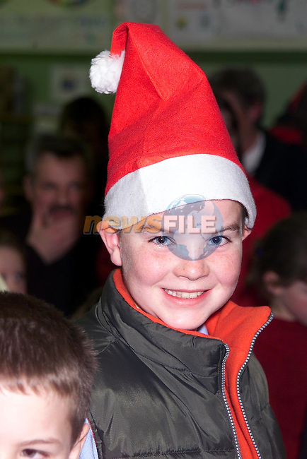 Conor Culligan from Anagassan at the Christmas bazzar in the paraochial hall, Kilsarin..Picture: Paul Mohan/Newsfile