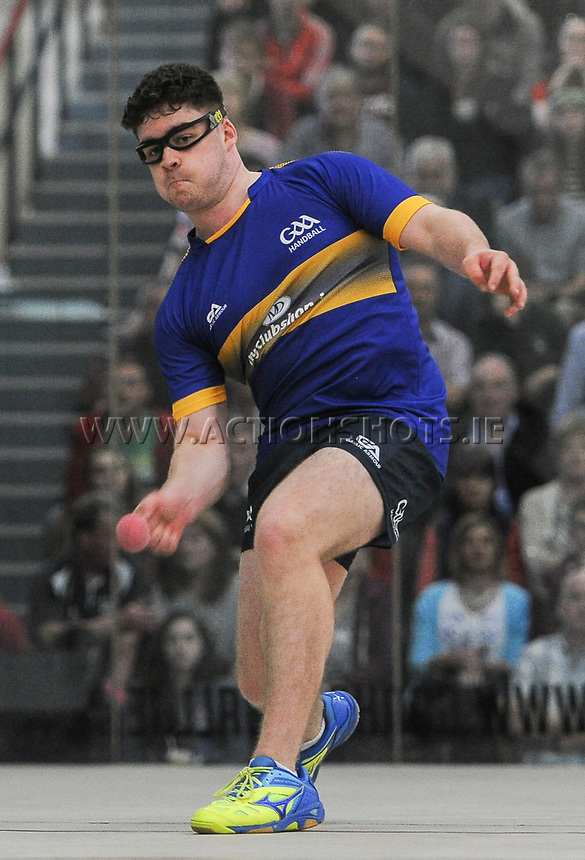 02/09/2017; GAA Handball All-Ireland 60x40 Boys Minor Singles Final, James Prentice (Tipperary) vs Diarmuid Mulkerrins (Galway); Croke Park Handball Center, Dublin;<br /> James Prentice<br /> Photo Credit: actionshots.ie/Tommy Grealy