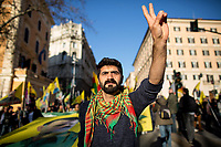 15.02.2020 - Freedom For Ocalan & Peace In The Middle East, Kurdish National Demo in Rome