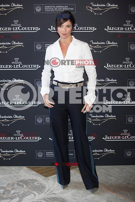 Spanish actress Maribel Verdu poses during Aladina Foundation presentation at 63rd Donostia Zinemaldia (San Sebastian International Film Festival) in San Sebastian, Spain. September 18, 2015. (ALTERPHOTOS/Victor Blanco) /NortePhoto.com