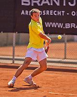 Netherlands, Rotterdam August 08, 2015, Tennis,  National Junior Championships, NJK, TV Victoria, Guy den Heijer<br /> Photo: Tennisimages/Henk Koster