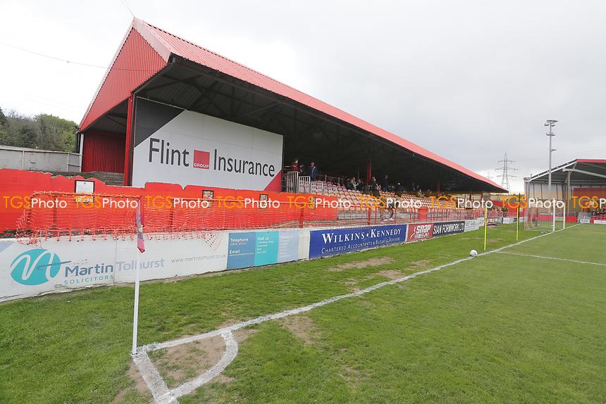 General view of the ground ahead of Ebbsfleet United vs Dagenham & Redbridge, Vanarama National League Football at The Kuflink Stadium on 13th April 2019