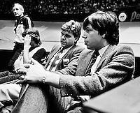 1982, ABN WTT, Jan Leupe en Peter Bonthuis (r)