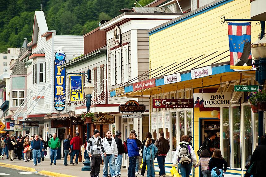 Downtown, Juneau, Alaska, USA