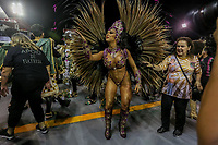 SAO PAULO, SP, 21/02/2020 - Carnaval 2020 -SP- Carnaval 2020, Renata Spallicci Rainha de Bateria da Escola de Samba Barroca Zona Sul pelo grupo especial, no Sambodromo do Anhembi em Sao Paulo, SP, nesta sexta-feira (21). (Foto: Marivaldo Oliveira/Codigo 19/Codigo 19)