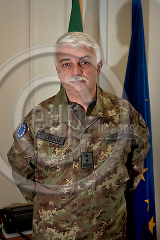 """BOSNIA - SARAJEVO 15. NOVEMBER 2006 --Major General Gian Marco Chiarini, commander EUFOR -- PHOTO: CHRISTIAN T. JOERGENSEN / EUP & IMAGES..This image is delivered according to terms set out in """"Terms - Prices & Terms"""". (Please see www.eup-images.com for more details)"""