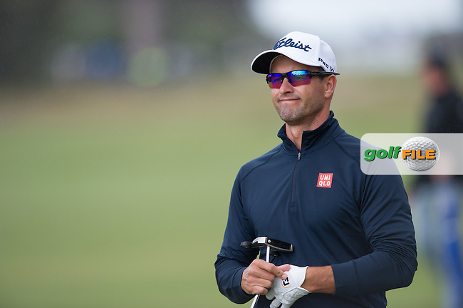 Adam Scott (AUS) during round 3 at the ISPS Handa World Cup of Golf, from Kingston heath Golf Club, Melbourne Australia. 26/11/2016<br /> Picture: Golffile | Anthony Powter<br /> <br /> <br /> All photo usage must carry mandatory copyright credit (&copy; Golffile | Anthony Powter)