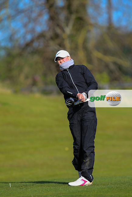 during Round 3 of the Irish Girl's Open Stroke Play Championship at Roganstown Golf &amp; Country Club on Sunday 17th April 2016.<br /> Picture:  Thos Caffrey / www.golffile.ie