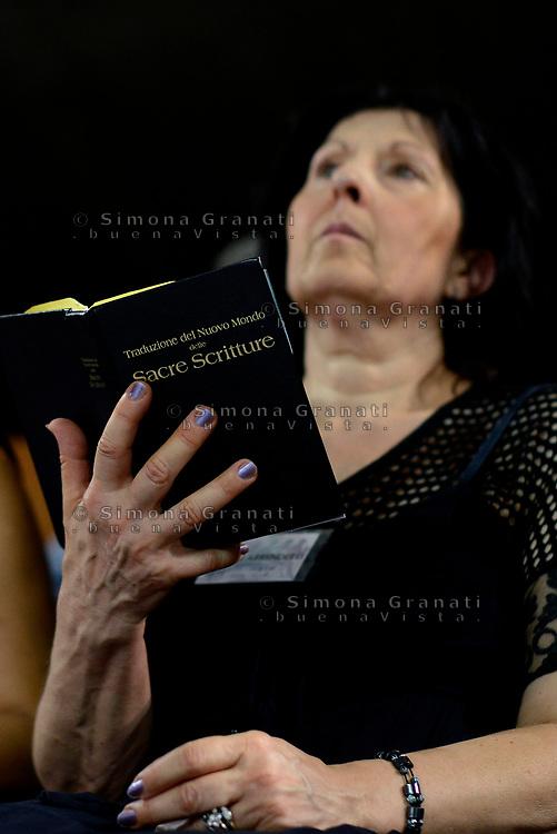 Roma, 15 Luglio 2017<br /> Congresso dei Testimoni di Geova con Battesimi presso il PalaLottomatica