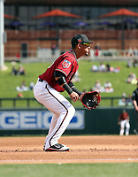 Ildemaro Vargas - Arizona Diamondbacks 2018 spring training (Bill Mitchell)