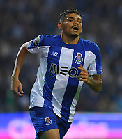 27th October 2019; Dragao Stadium, Porto, Portugal; Portuguese Championship 2019/2020, FC Porto versus Famalicao; Tiquinho Soares of FC Porto celebrates his goal in the 72th minute, 2-0