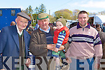 James O'Connor Castlemaine, Charlie Moriarty, Ben Brosnan Currow and James O'Connor Castlemaine looking for a deal at the Milltown Fair on Sunday