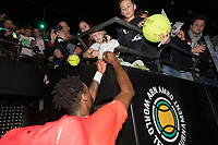 Rotterdam, The Netherlands, 14 Februari 2019, ABNAMRO World Tennis Tournament, Ahoy, Gael Monfils,<br /> Photo: www.tennisimages.com/Henk Koster