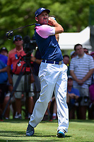 Sergio Garcia (ESP) watches his tee shot on 3 during round 2 of the Dean &amp; Deluca Invitational, at The Colonial, Ft. Worth, Texas, USA. 5/26/2017.<br /> Picture: Golffile | Ken Murray<br /> <br /> <br /> All photo usage must carry mandatory copyright credit (&copy; Golffile | Ken Murray)