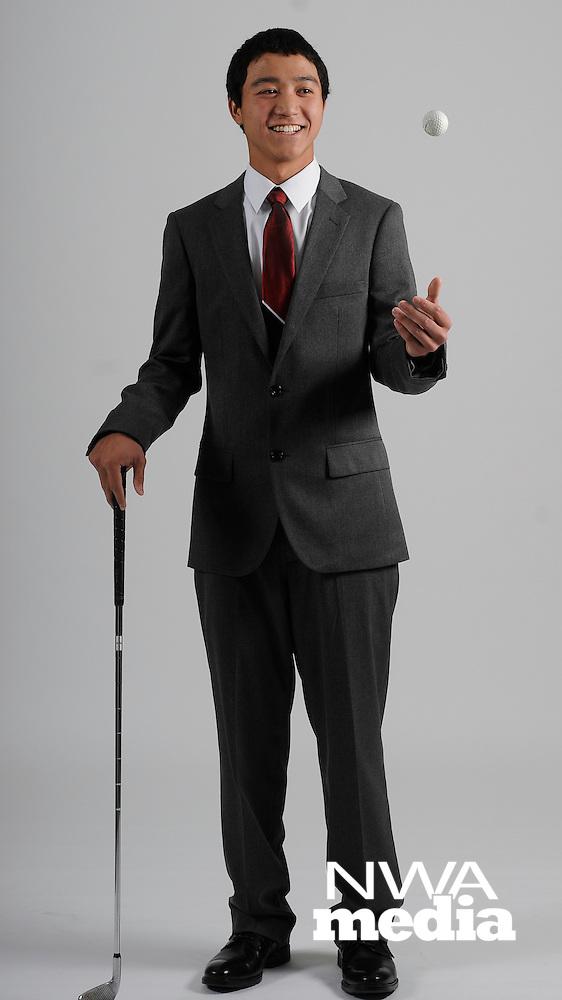 NWA Media/ J.T. Wampler - Boys Golf Newcomer of the Year: Canon Cothran, Shiloh Christian