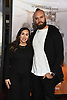 Mark Herzlich and date attends the &quot;12 Strong&quot; World Premiere on January 16, 2018 at Jazz at Lincoln Center in New York City, New York, USA.<br /> <br /> photo by Robin Platzer/Twin Images<br />  <br /> phone number 212-935-0770