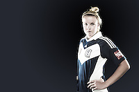 Amy Jackson is a central midfielder who has played for Melbourne Victory since Season 3 of the W-League. A creative force in the middle of the park, she is capable of scoring goals as well as assisting them. //  Despite spending most of the off-season in 2012 recovering from a broken arm, the 25 year old managed to recover in time and featured in the Buroondara Eagles squad in the later part of the Victorian state league season. //  (Copyright Photo Sydney Low. Text Zee Ko)