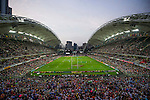 General view during the Cathay Pacific / HSBC Hong Kong Sevens at the Hong Kong Stadium on 27 March 2015 in Hong Kong, China. Photo by Juan Manuel Serrano / Power Sport Images