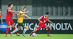 Australia vs China PR during the AFC U-19 Women's Championship China Group A match at the Jiangning Sports Centre Stadium on 20 August 2015 in Nanjing, China. Photo by Aitor Alcalde / Power Sport Images