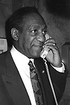 Bill Cosby<br /> ( Taking Reservations on the Telephone ) on September 14, 1989 at<br /> LeCirque, Restaurant in New York City.