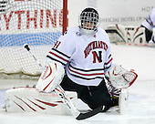 Florence Schelling (NU - 41) - The Northeastern University Huskies defeated the Union College Dutchwomen 4-1 on Saturday, October 3, 2009, at Matthews Arena in Boston, Massachusetts.