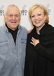 John Kander and Susan Stroman attends the press photocall for 'The Beast In The Jungle' at the New 42nd Street Studios on April 3, 2018 in New York City.