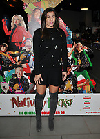 Imogen Thomas at the &quot;Nativity Rocks!&quot; gala film screening, Vue West End, Leicester Square, London, England, UK, on Sunday 04 November 2018.<br /> CAP/CAN<br /> &copy;CAN/Capital Pictures