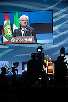Sergio Mattarella  è un politico e giurista italiano, 12º presidente della Repubblica Italiana dal 3 febbraio 2015.
