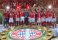 FUSSBALL  DFB POKAL FINALE  SAISON 2015/2016 in Berlin FC Bayern Muenchen - Borussia Dortmund         21.05.2016 DER FC BAYERN IST POKALIEGER 2016