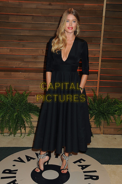 02 March 2014 - West Hollywood, California - Doutzen Kroes. 2014 Vanity Fair Oscar Party following the 86th Academy Awards held at Sunset Plaza. <br /> CAP/ADM/BP<br /> &copy;Byron Purvis/AdMedia/Capital Pictures