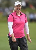 28th September 2017, Windross Farm, Auckland, New Zealand; LPGA McKayson NZ Womens Open, first round;  USA's Brittany Lincicome