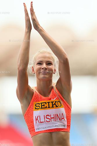 Darya Klishina (RUS), MAY 10, 2015 - Athletics : IAAF World Challenge Seiko Golden Grand Prix in Kawasaki, Women's Long Jump at Todoroki Stadium, Kanagawa, Japan. (Photo by YUTAKA/AFLO SPORT)
