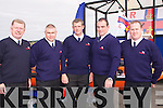 CREW; The Bangor and Fenit RNLI Crew gathered on the Bradley and Sonya inshore Lifeboat in Fenit on Saturday for the launch of the inshore RNLI lifeboat on Saturday...................