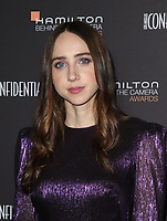 LOS ANGELES, CA - NOVEMBER 4: Zoe Kazan at the 10th Hamilton Behind the Camera Awards hosted by Los Angeles Confidential at Exchange LA in Los Angeles, California on November 4, 2018. <br /> CAP/MPI/FS<br /> &copy;FS/MPI/Capital Pictures