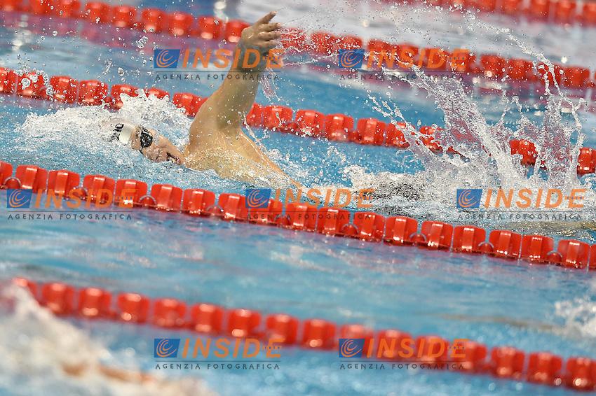 Gunsennorov Zandanbal MGL Men's 200m Freestyle <br /> Doha Qatar 03-12-2014 Hamad Aquatic Centre, 12th FINA World Swimming Championships (25m). Nuoto Campionati mondiali di nuoto in vasca corta.<br /> Photo Andrea Staccioli/Deepbluemedia/Insidefoto