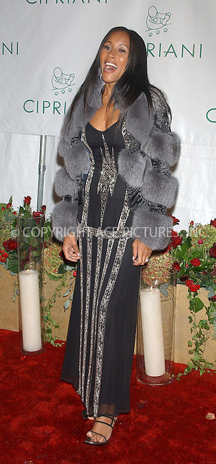 WWW.ACEPIXS.COM . . . . . ....NEW YORK, NOVEMBER 4, 2004....Cynthia Garrett arriving at Sean 'P. Diddy' Combs Birthday Bash at Cipriani Wall Street. ....Please byline: ACE006 - ACE PICTURES.. . . . . . ..Ace Pictures, Inc:  ..Alecsey Boldeskul (646) 267-6913 ..Philip Vaughan (646) 769-0430..e-mail: info@acepixs.com..web: http://www.acepixs.com