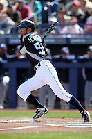 Ichiro Suzuki #51 of the Seattle Mariners plays in a spring training game against the San Diego Padres at Peoria Stadium on February 27, 2011  in Peoria, Arizona. . .Photo by:  Bill Mitchell/Four Seam Images.