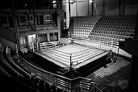 Inside view of the Mohammad Ali Boxing stadium, Dhaka, Bangladesh.