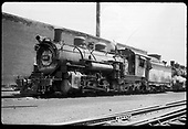 D&amp;RGW #490 K-37 in Chama.<br /> D&amp;RGW  Chama, NM