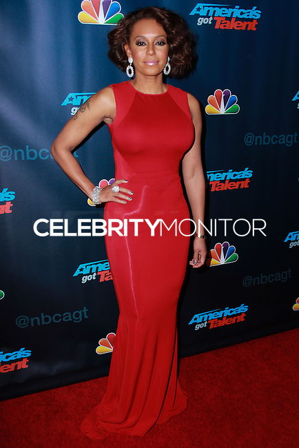 "NEW YORK, NY - SEPTEMBER 18: Mel B (Melanie Brown) attends the ""America's Got Talent"" Season 8 Finale held at Radio City Music Hall on September 18, 2013 in New York City. (Photo by Jeffery Duran/Celebrity Monitor)"