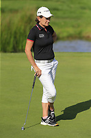 Catriona Matthew (SCO) on 16th green during Thursday's Round 1 of The Evian Championship 2018, held at the Evian Resort Golf Club, Evian-les-Bains, France. 13th September 2018.<br /> Picture: Eoin Clarke | Golffile<br /> <br /> <br /> All photos usage must carry mandatory copyright credit (© Golffile | Eoin Clarke)
