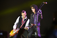The Hollywood Vampires, Johnny Depp, Alice Cooper<br /> performing at Olympic stadium. Moscow, Russia on May 28, 2018.<br /> **Not for sale in Russia or FSU**<br /> CAP/PER/EN<br /> &copy;EN/PER/Capital Picturess