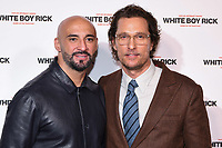 LONDON, UK. November 27, 2018: Yann Demange &amp; Matthew McConaughey at the &quot;White Boy Rick&quot; screening at the Picturehouse Central, London.<br /> Picture: Steve Vas/Featureflash