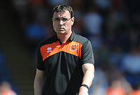 Blackpool manager Gary Bowyer <br /> <br /> Photographer Kevin Barnes/CameraSport<br /> <br /> The EFL Sky Bet League One - Wycombe Wanderers v Blackpool - Saturday 4th August 2018 - Adams Park - Wycombe<br /> <br /> World Copyright &copy; 2018 CameraSport. All rights reserved. 43 Linden Ave. Countesthorpe. Leicester. England. LE8 5PG - Tel: +44 (0) 116 277 4147 - admin@camerasport.com - www.camerasport.com