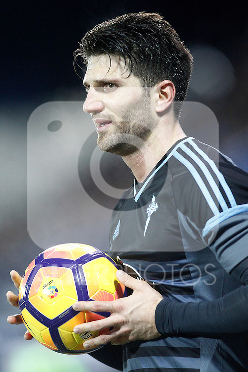 Celta de Vigo's Carles Planas during La Liga match. January 28,2017. (ALTERPHOTOS/Acero)