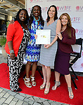 "COCONUT GROVE, FL - MARCH 30: Marchet McWhite, Yvonne Mccormack Lyons, Cecilia Peck and Michele Gillen attend the Women's International Film Festival 2014 - Brunch and the screening of ""Brave Miss World"" also received the awards for the best films of the festival on March 30, 2014 in Coconut Grove, Florida. (Photo by Johnny Louis/jlnphotography.com)"