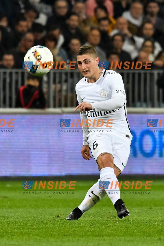 Marco Verratti (Paris Saint Germain)<br /> Nizza 30-04-2017 <br /> Nice - Paris Saint Germain Ligue 1 2016/2017  <br /> Foto Philippe LECOEUR/ Panoramic/insidefoto