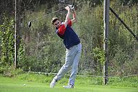 Wednesday, October 11, 2017:  Match action from the Barnstable vs Bridgewater-Raynham varsity golf match played at Old Scotland Links, in Bridgewater, Mass. Eric Canha/BridgewaterSports.com