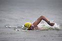 29/08/15<br /> <br /> Kevin Welsh completes swim at Ambleside.<br /> <br /> Competitors take part in the annual 10.5 mile swim along the length of Lake Windermere (Britain's longest lake) in the Cumbrian Lake District. Twenty swimmers (12 female and 8 men) started today's event run by the British Long Distance Swimming Association.<br /> <br /> All Rights Reserved - F Stop Press.  www.fstoppress.com. Tel: +44 (0)1335 418365 +44(0)7765 242650
