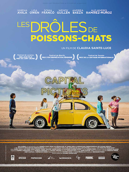 FRENCH POSTER ART<br /> in The Amazing Catfish (2013) <br /> (Los insolitos peces gato)<br /> (Les droles de poissons-chats)<br /> *Filmstill - Editorial Use Only*<br /> CAP/FB<br /> Image supplied by Capital Pictures